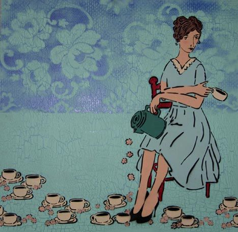 i think this is a picture of me - just keep the cuppas coming