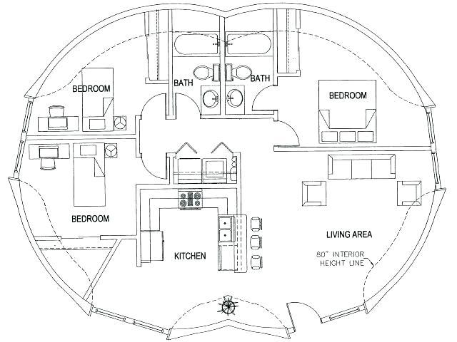 Hobbit Hole Plans Hobbit Hole Floor Plan Dome Floor Plans Images