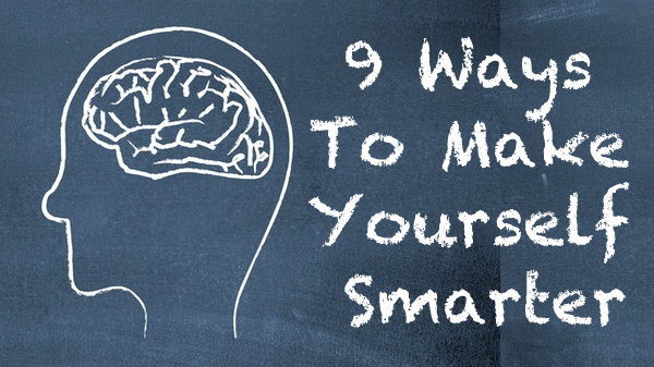 9 Simple Ways To Make Yourself Smarter. Tiny tweaks to your diet, clothes and exercise that will boost your brain power! #Geek #Gizmodo