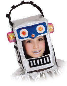 retro roboter kost m selber machen geburtstagsbuch party roboter kost me kost m und roboter. Black Bedroom Furniture Sets. Home Design Ideas