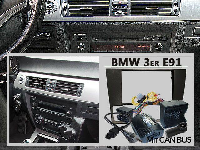 BMW 3er Touring E91 Radio Tausch 1 DIN oder Doppel DIN http://www.radio-adapter.eu/blog/bmw-3er-touring-e91-radio-tausch-din-oder-doppel-din/ im Touring Modell E91 von 2005-2012 mit dem BMW Business Radio bestückt können sowohl 1 DIN Radios wie auch Doppel DIN Geräte verbaut werden. mehr unter https://www.pinterest.com/radioadaptereu/einbauanleitungen-f%C3%BCr-autoradios/