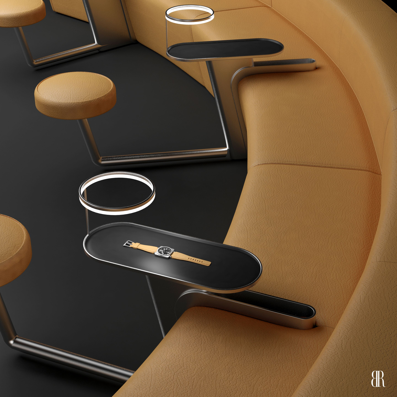 Show Room Stand Horlogerie 2 Design D Espace Benoit Redard Avignon Hotel Furniture Furniture Design Chair Design