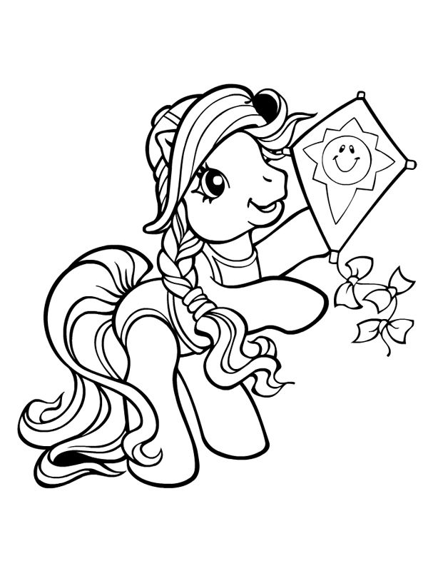 Coloriage gratuit lolirock recherche google poney - My little pony a colorier ...