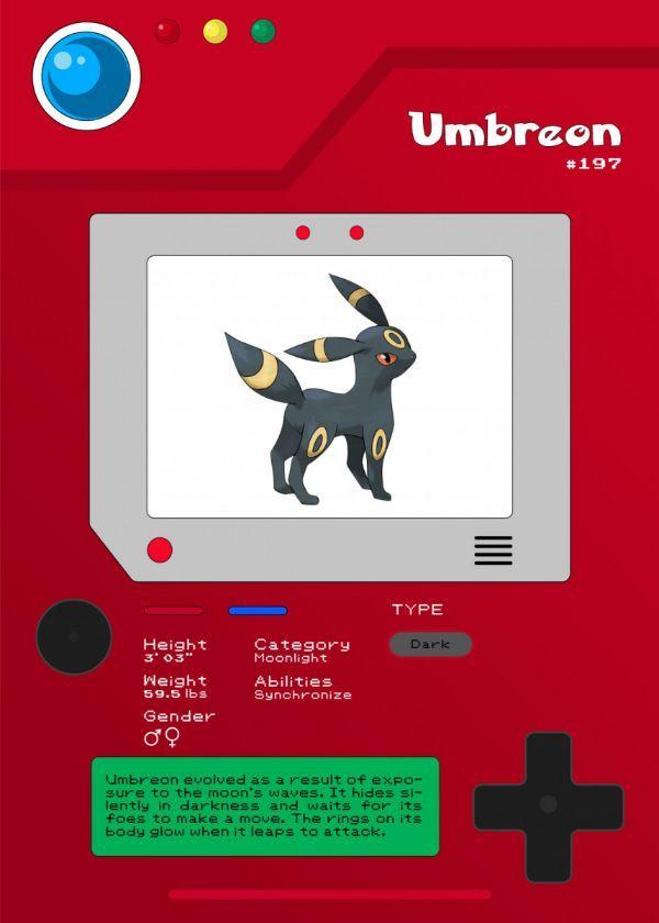 Pokémon Pokédex Characters Displate Posters