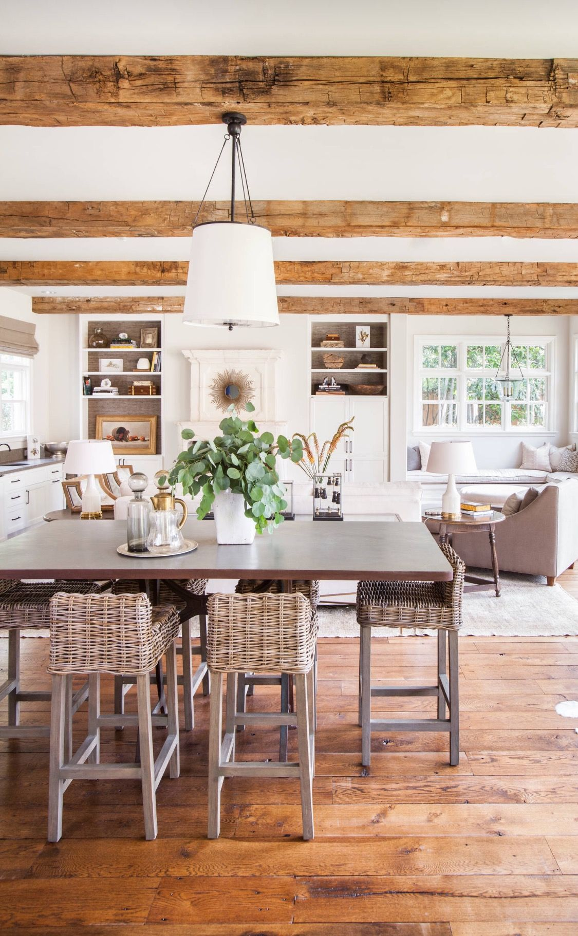 beautiful rustic kitchen houzz farmhouse interior design modern farmhouse dining room on kitchen interior farmhouse id=36446