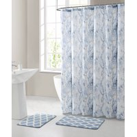 Shower Curtain Sets Walmart Com In 2020 Fabric Shower Curtains Curtains Shower Curtain