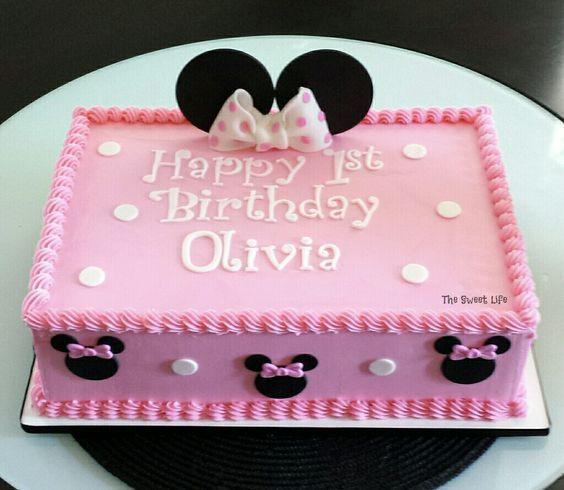 Bolo da Minnie 40 Opes Para Voc Se Inspirar Minnie mouse