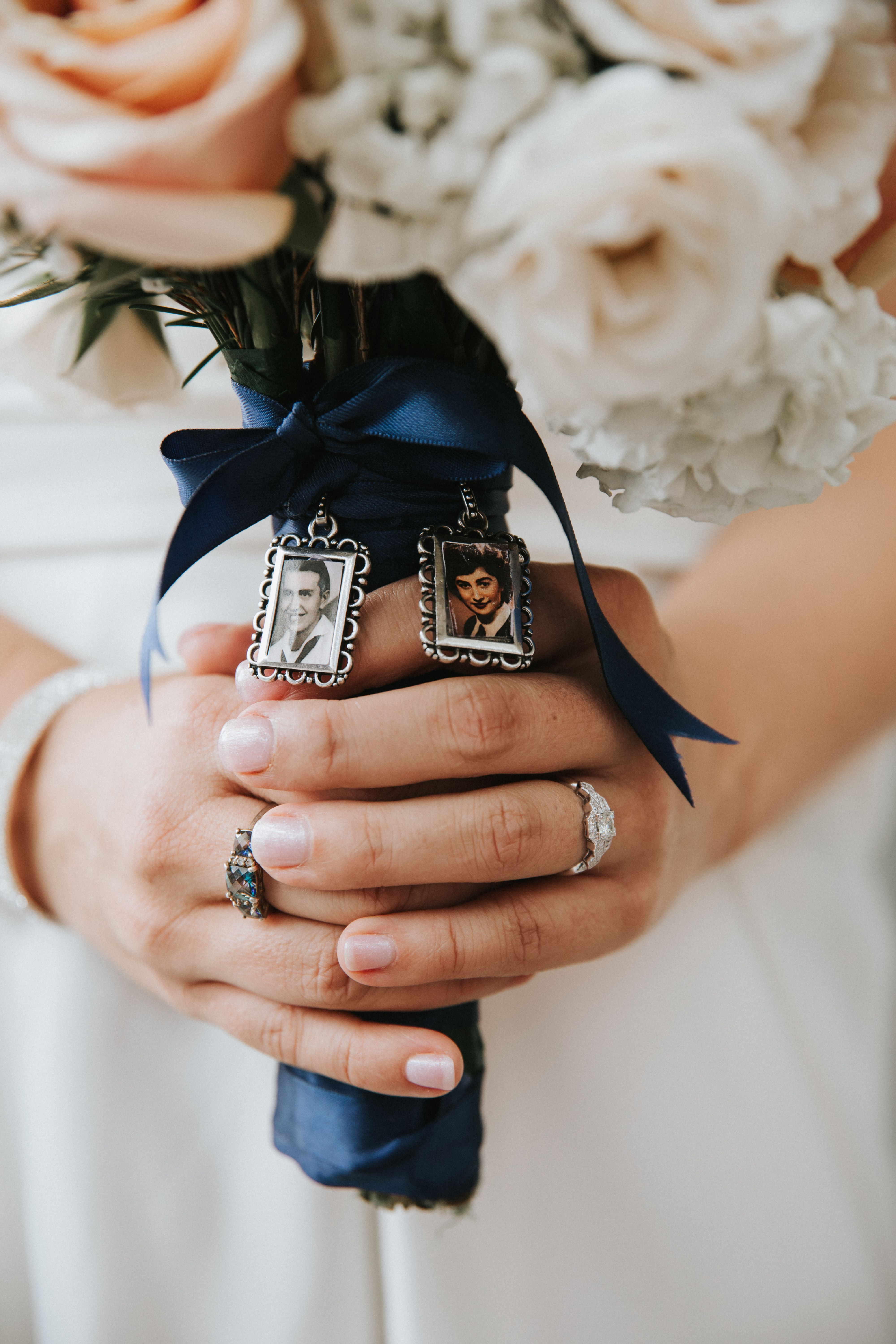 Bridal Bouquet Honoring Ones Who Cant Be With You Today Brides