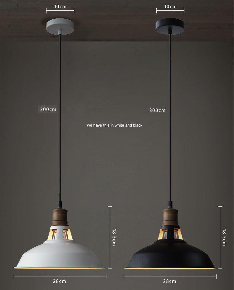 antique industrial pendant lights white. Duotone Vintage Industrial Pendant Light With Brass Fitting. Warehouse Loft Inspired Antique Lights White H