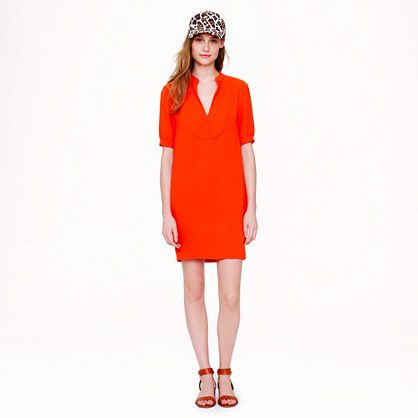 J Crew Crepe Shift Dress This Looks Great In Blue On The We Love Link At Jcrew