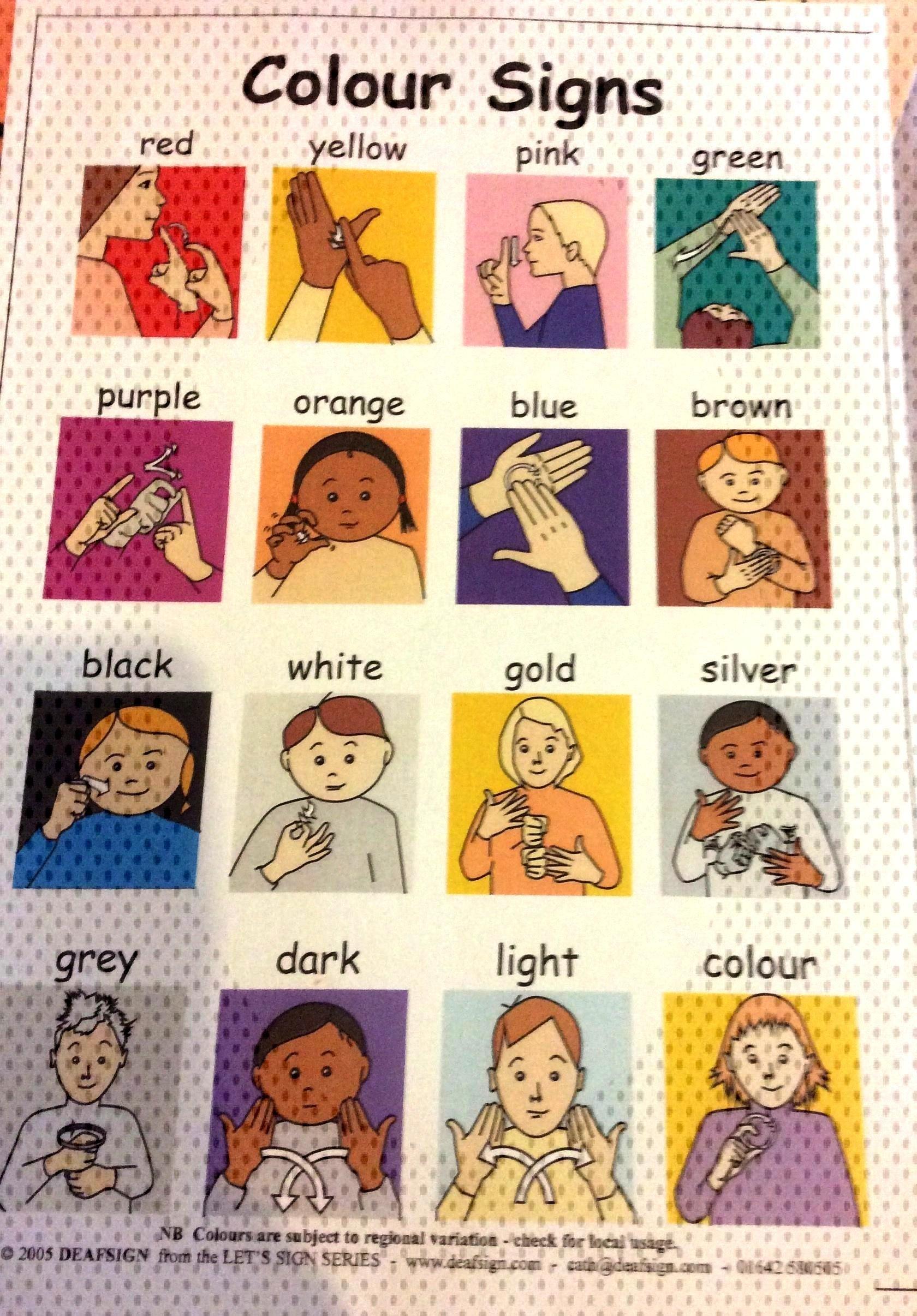 Worksheet Printable Alphabet Language Colour Sign 4