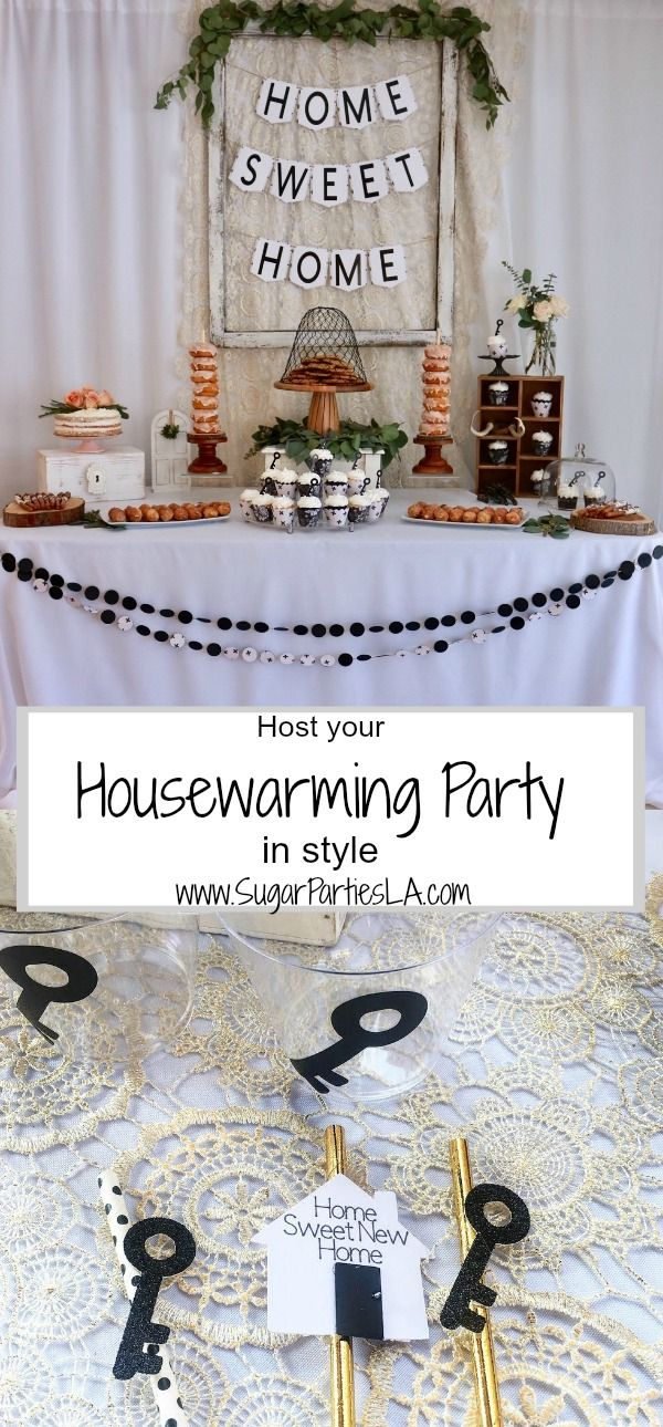 Home Sweet Home, Housewarming Party,New Home party Idea, Our first ...