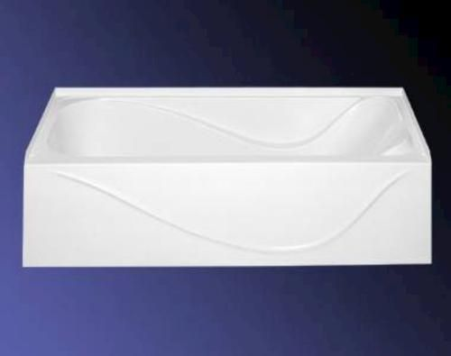 Classic 54 X 27 X 16 1 2 Left Hand Drain Above Floor Rough Bathtub At Menards Perfect Size And Perfect Price For A Modular Best Bathtubs Bathtub Home Reno