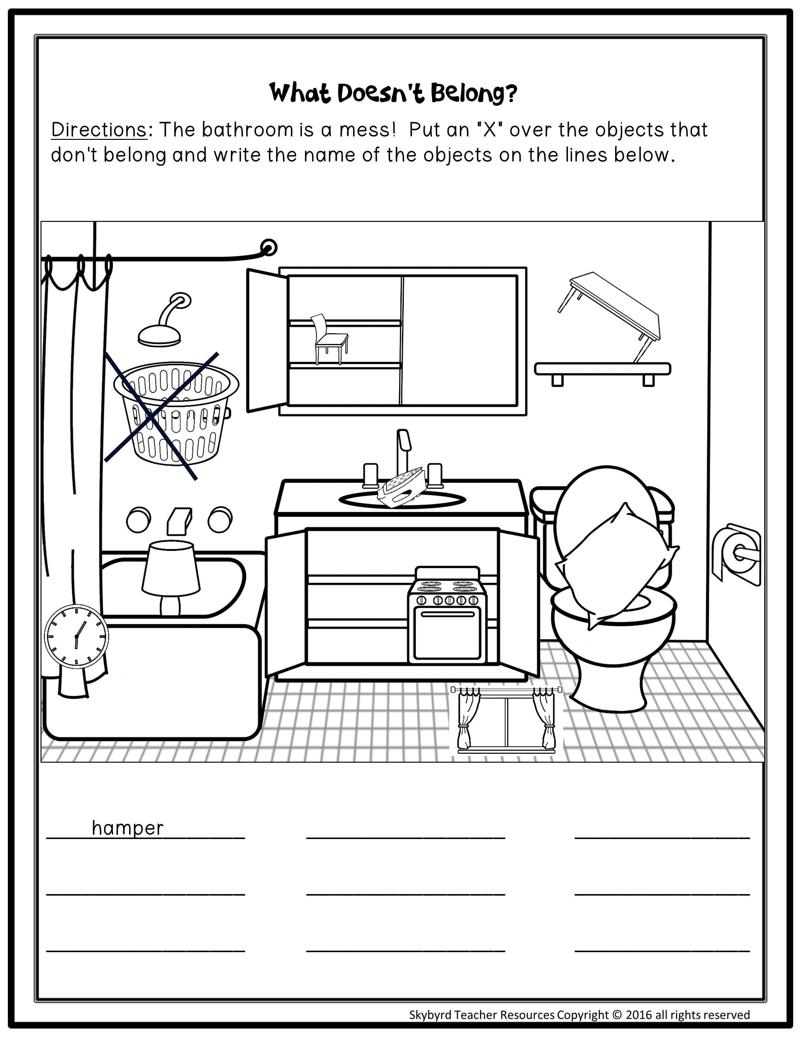Esl Newcomer Activities Home Sweet Home Unit