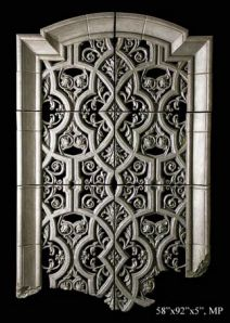 Large Wall Gate Panel Set Sculptures
