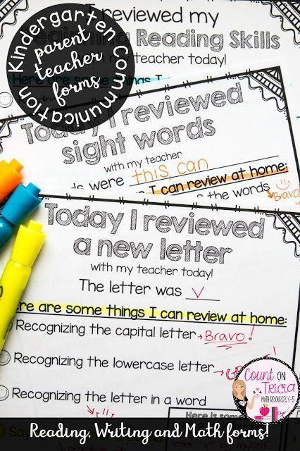 Classroom Management and Parent-Teacher Communication Made Easy for Kindergarten Classroom Manageme