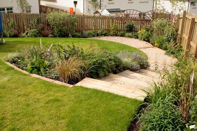 spiral garden design - Garden Design Slope