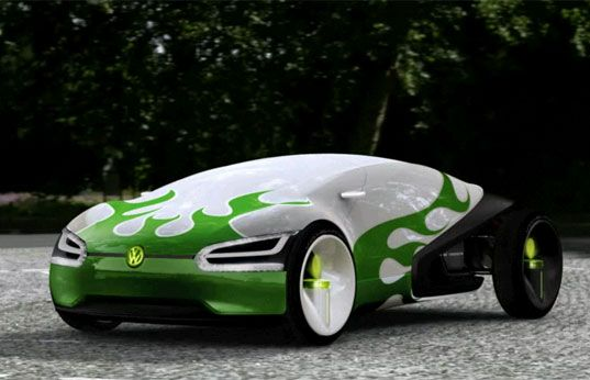 Transportation Tuesday Volkswagen S Cars Of The Future 2028 Car Vehicles Vw Room Ego One Up V