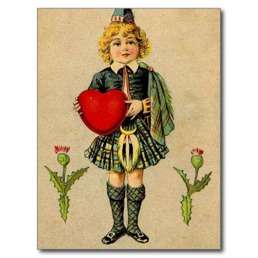 Scottish boy & heart