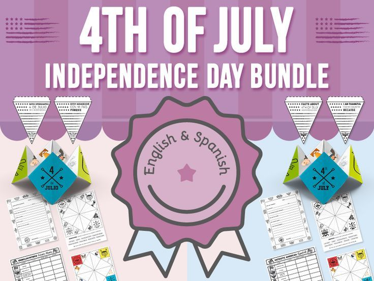 4th of July  Independence Day Activities by ClassPlus  Teaching Resources
