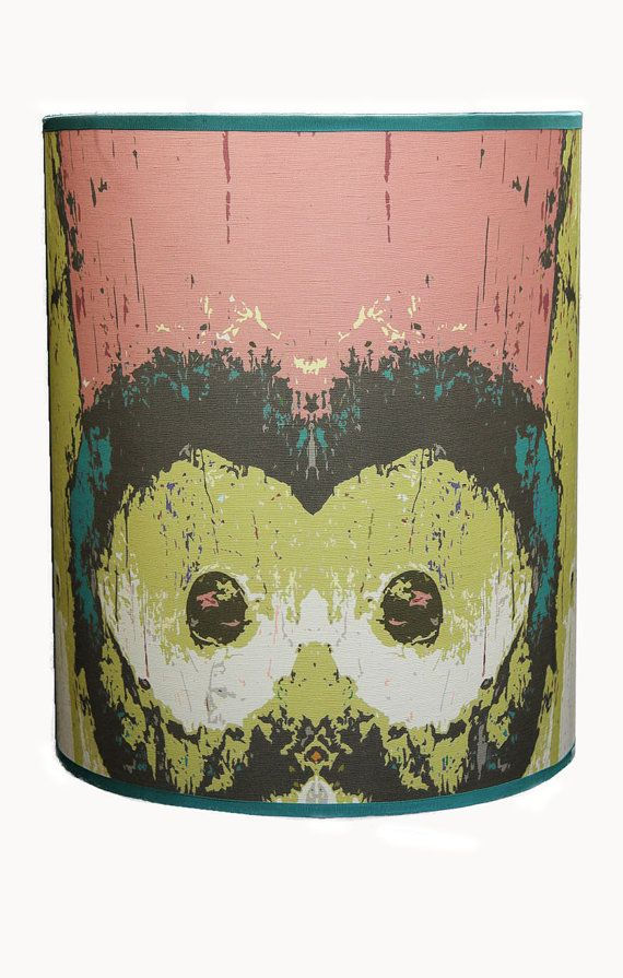 Large Drum Lamp Shade Funky Lampshade Custom
