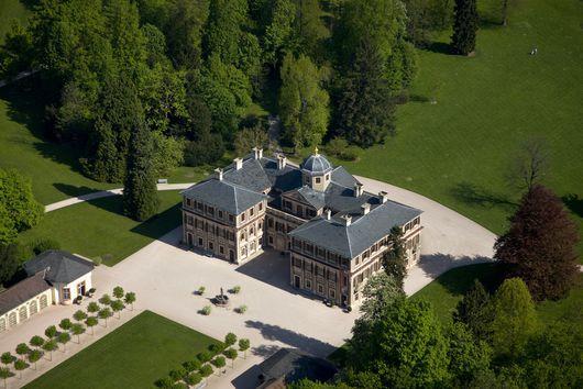 Luftaufnahme Von Schloss Favorite Rastatt Burg Schlosser Deutschland Anwesen