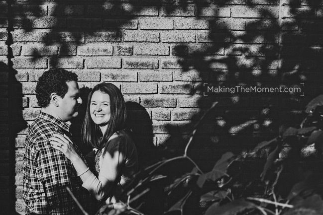 Mike & Jen and one awesome Cleveland engagement session!
