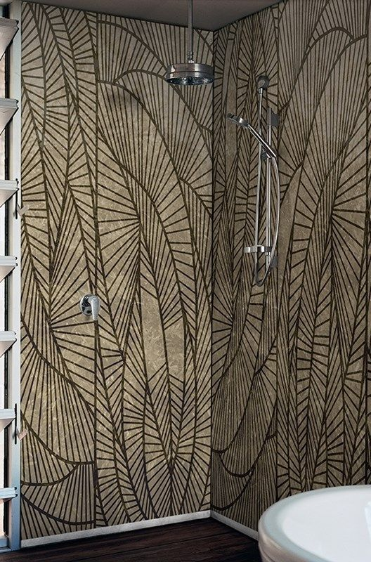 Decorative Wallcoverings For Bathrooms And Shower Rooms Not Only Offer High Visual Eal Their Biophilic Inspired Designs Forbidden Gardens