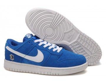 Nike Dunk Low Dallas Mavericks Shoes - Blue/White - Wholesale &