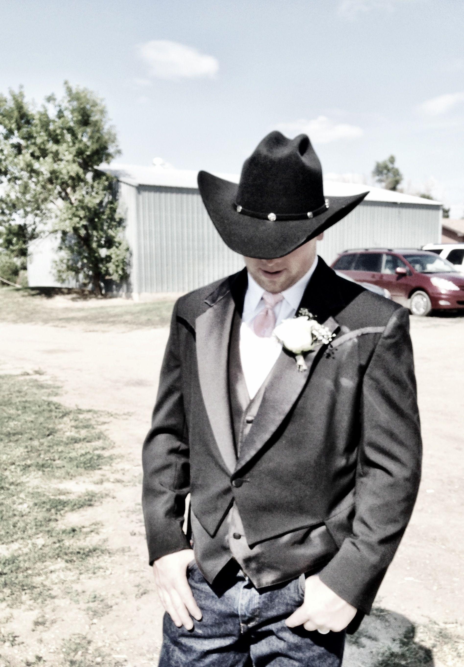 Cowboy wedding ranch western tail coat | My Western Fairytale ...