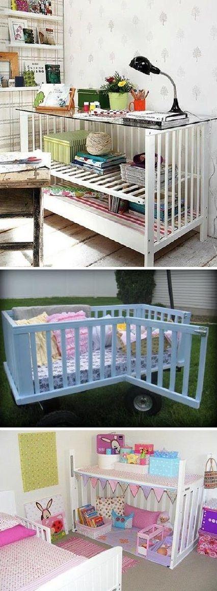 Reuse baby cribs | RECYCLE | Pinterest | Reciclado, Habitaciones ...