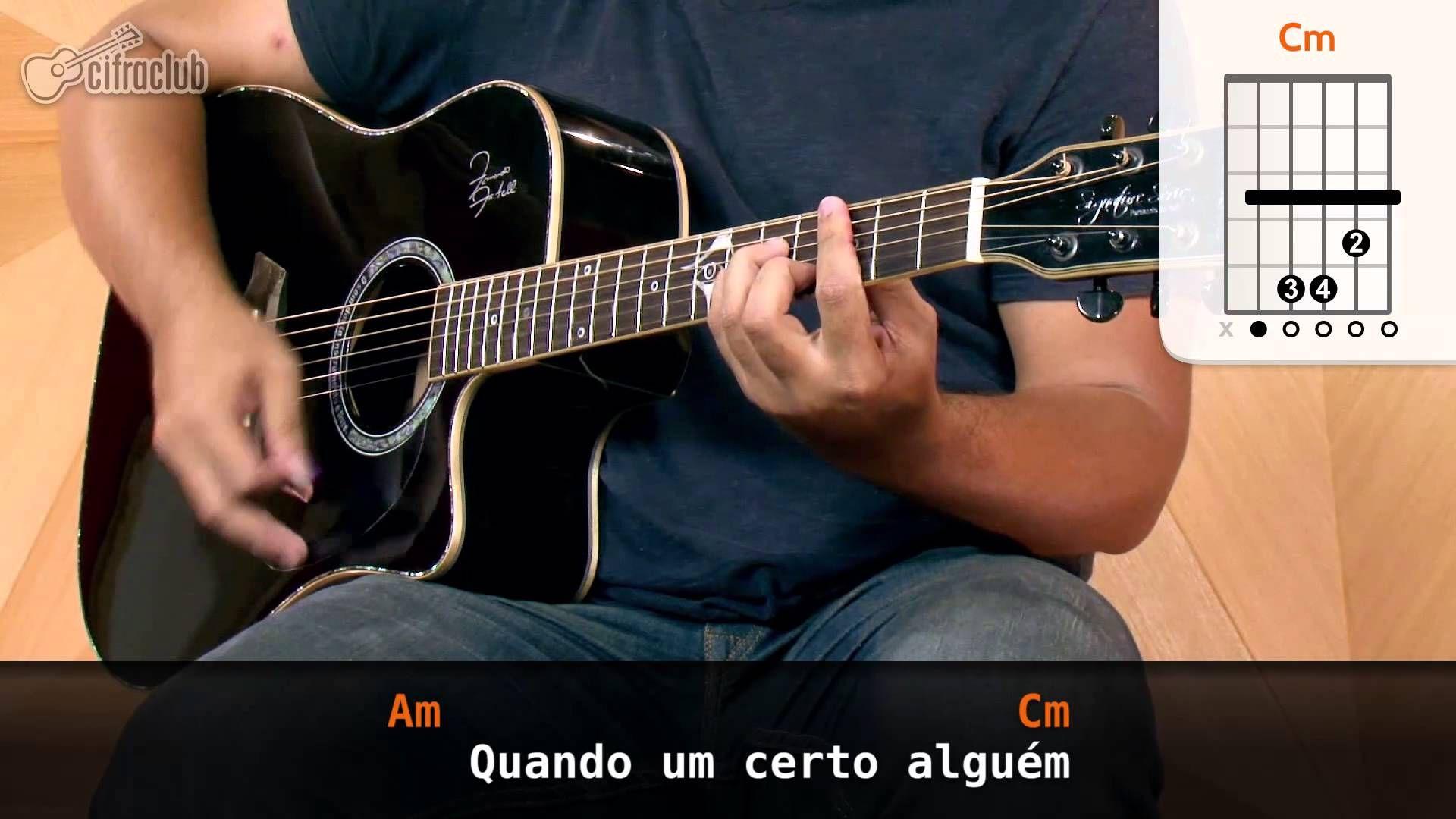 Um Certo Alguém - Lulu Santos (aula de violão simplificada)