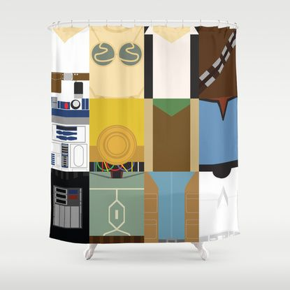 Star Wars Shower Curtain So Awesome But Too Pricey With