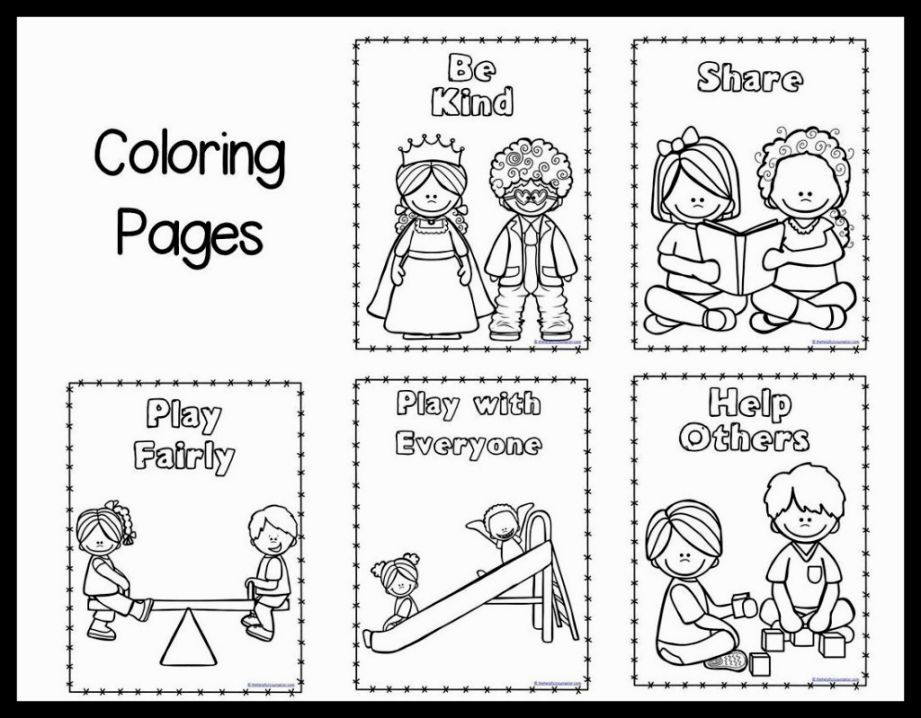 Image for good manners coloring pages my baby s for Manners coloring pages