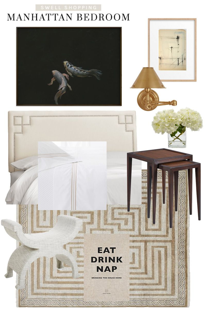 Swell Shopping: Timeless Manhattan Bedroom - Thou Swell