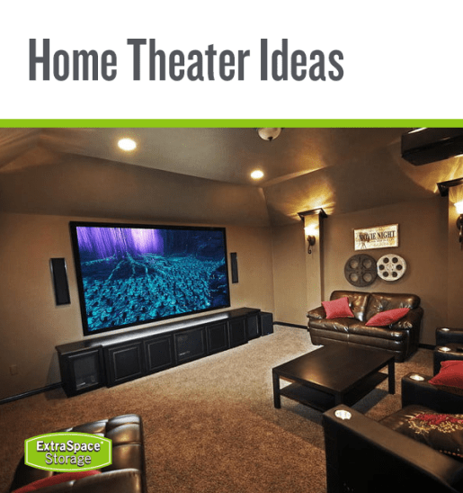 Living Room Storage For Movies - Home Theater Ideas How to ...