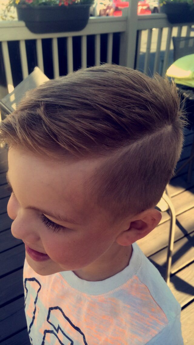 Boyscut Haircut Hardpart Design Ideas Pinterest Haircut