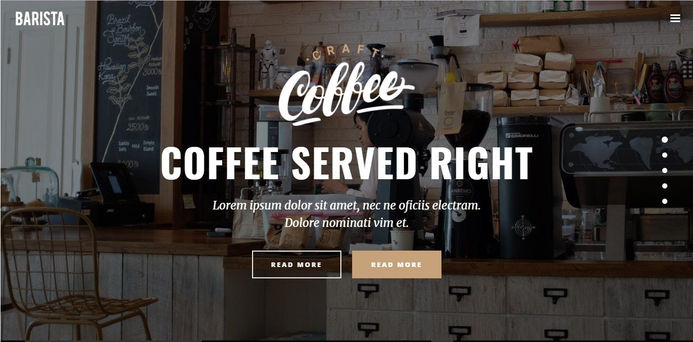 Coffee Shop Website Examples Coffee shop, Opening a