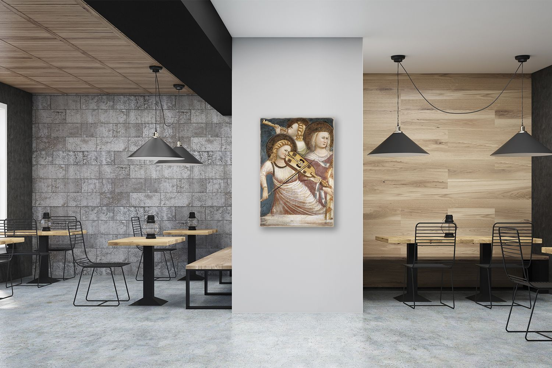 Quadri Per Bagno Moderno un'idea raffinata per decorare le pareti di un ristorante. i