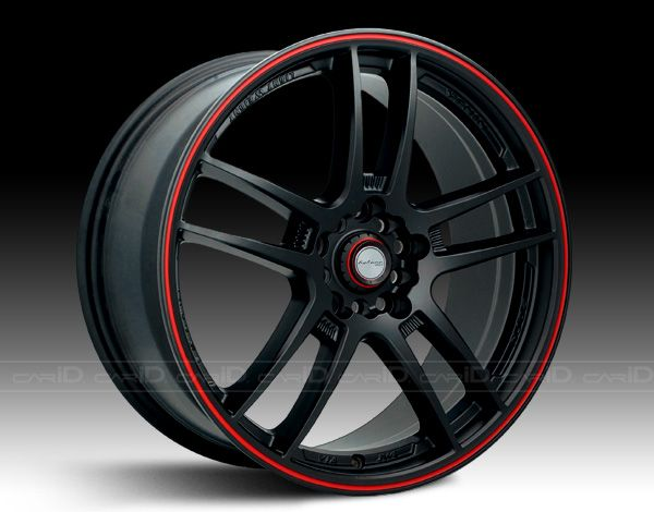 custom black and red rims - Google Search