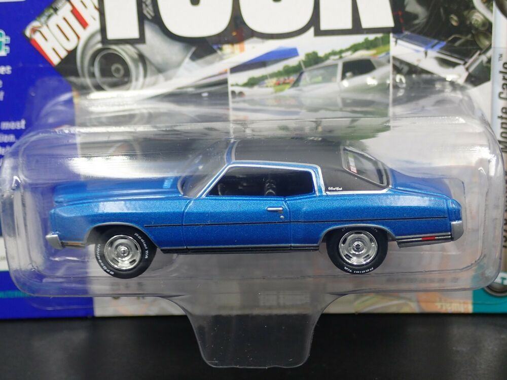 Johnny Lightning 1970 Chevy Chevrolet Monte Carlo Muscle Cars Usa