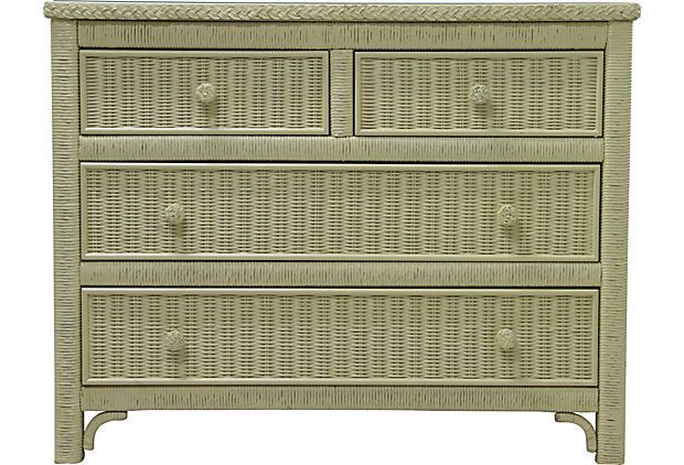 Henry Link Wicker Dresser I On Onekingslane