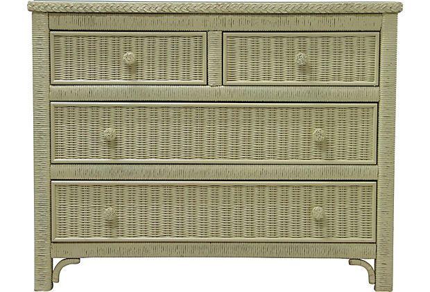 Henry Link Wicker Dresser I On Onekingslane Com Wicker