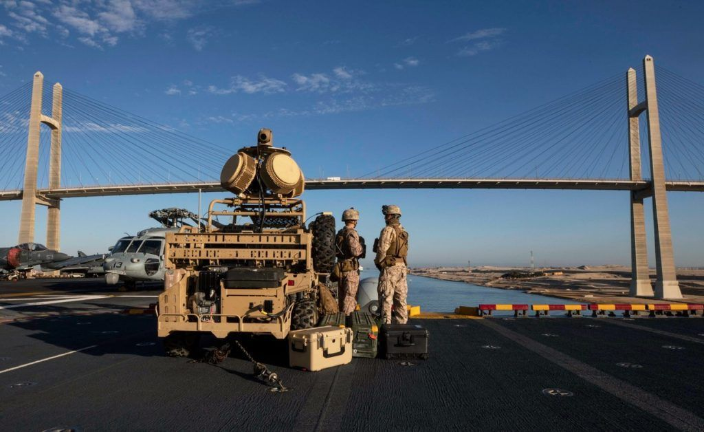 Photo of イランのドローンを撃墜、米海兵隊のエネルギー兵器「LMADIS」の威力