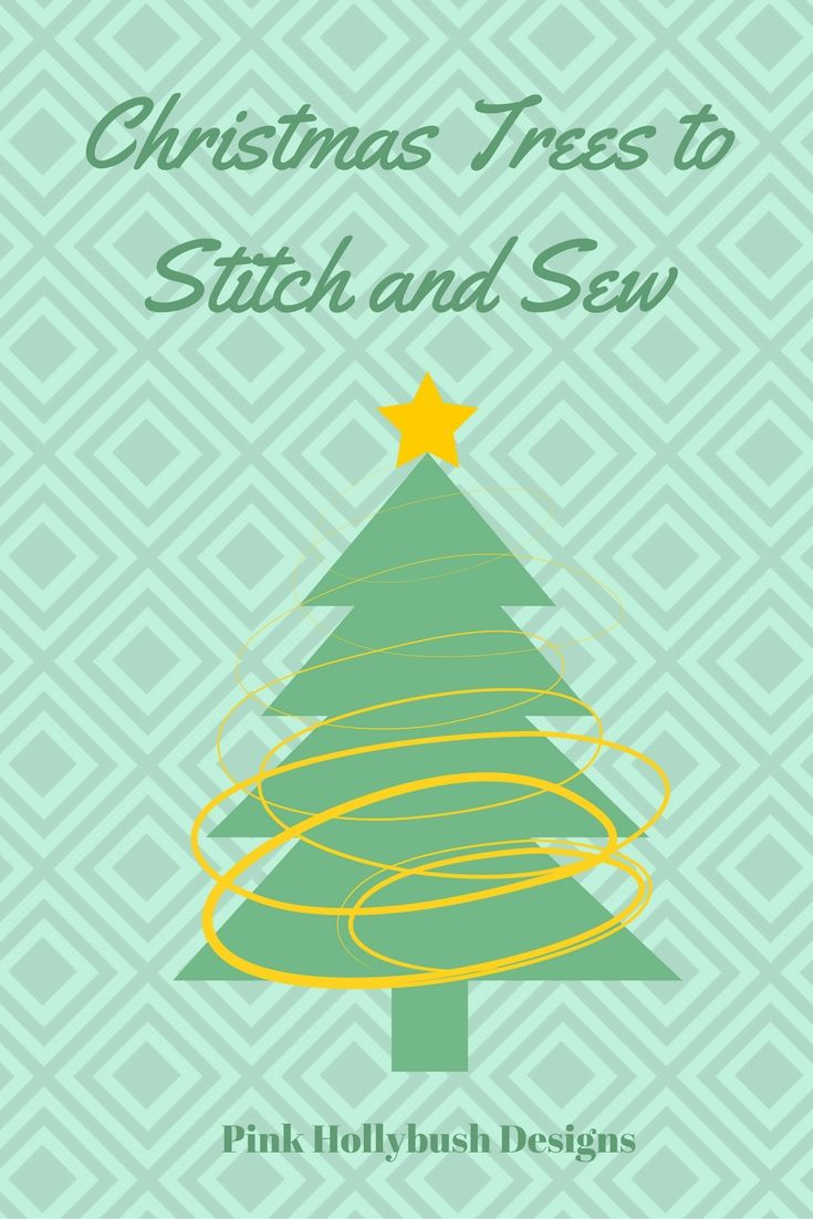 A round up of free christmas tree patterns to quilt embroider a round up of free christmas tree patterns to quilt embroider sew and jeuxipadfo Choice Image