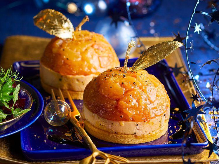 Tatin De Foie Gras Aux Pommes Foie Gras Aux Pommes Recette Foie Gras