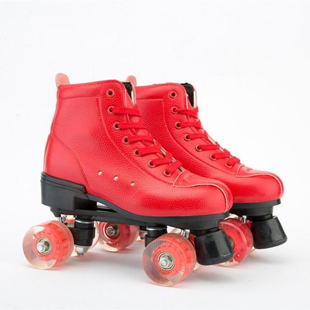 Red Roller Skates In 2021 Retro Roller Skates Roller Skates Roller Skates Fashion
