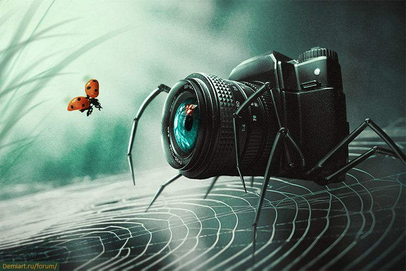 "«Фотоаппарат-паук», Making of ""Spider-Cam"""