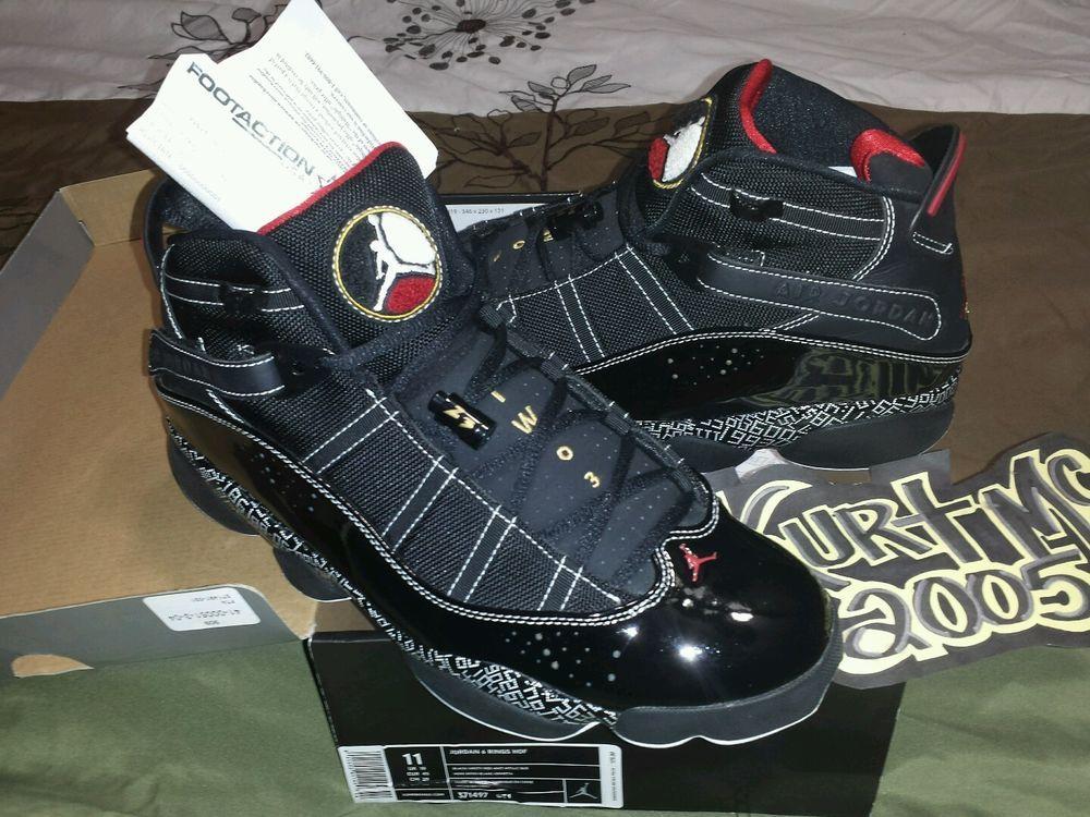 129a83a05db2 Nike Air Jordan 6 rings (HALL OF FAME) WORN ONCE sz11  WORN  BasketballShoes