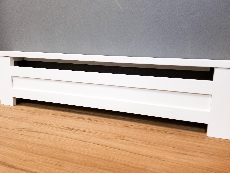 Shaker Style Custom Baseboard Heater Covers Custom Sizes